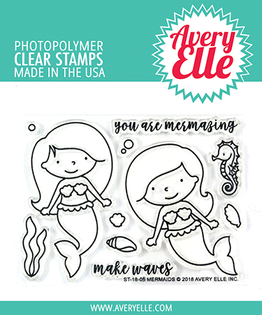Mermaids Stamp Set