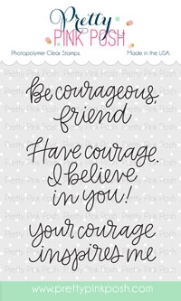 Simple Sayings: Courage Stamp Set