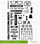 Read Between the Lines Stamp Set