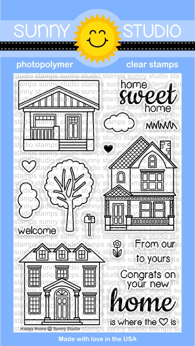 Happy Home Stamp Set