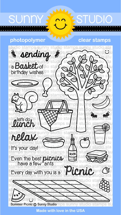Summer Picnic Stamp Set