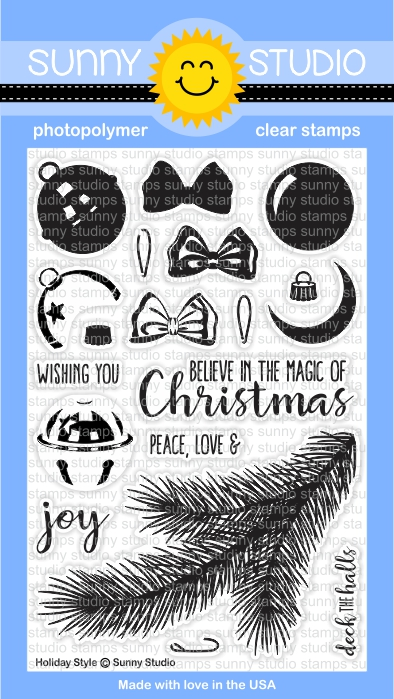 Holiday Style Stamp Set