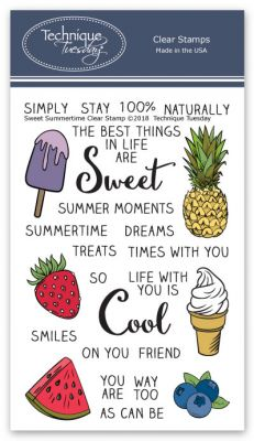 Sweet Summertime Stamp Set