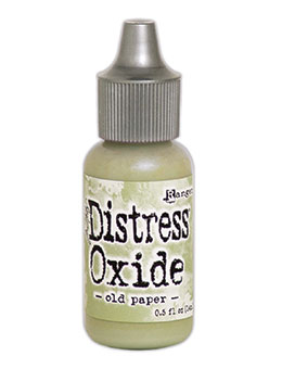 Distress Oxides Re-Inker Old Paper