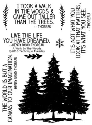 Walk in the Woods Stamp set