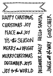 Hello Santa Banners Stamp Set