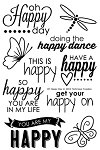 Oh Happy Day Stamp Set