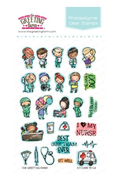 My Care Team Stamp Set