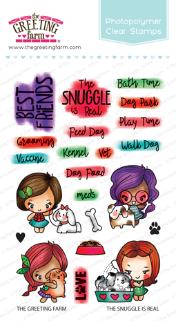 The Snuggle is Real Stamp Set