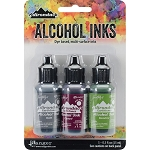 Alcohol Ink 3pk Cottage Path