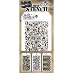 Tim Holtz Mini Stencil Set #24