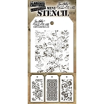 Tim Holtz Mini Stencil Set #25