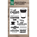 But First Coffee Stamp Set