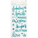 Glitter Girl Sparkle Phrase Thickers