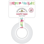 Milk & Cookies Happy Holidays Washi Tape