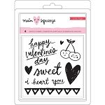 Main Squeeze Hearts & Words Stamp Set