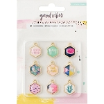 Good Vibes Charm Embellishments