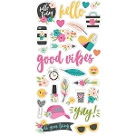 Good Vibes Chipboard Stickers