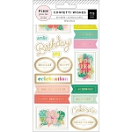 Confetti Wishes Sticker Book