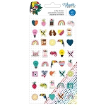 Box of Crayons Mini Puffy Stickers