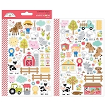 Down on the Farm Mini Icons Stickers