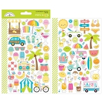 Sweet Summer Mini Icons Stickers