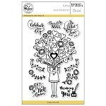 Bouquet of hearts Stamp Set