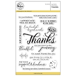 Word series: Thanks Stamp Set