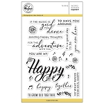 Word series: Happy Stamp Set
