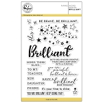 Word series: Brilliant Stamp Set