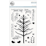 Folk Tree Stamp Set