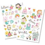 Dream Big Puffy Stickers