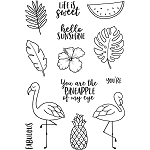 Tropical Fun Stamp Set