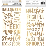 Spooky Boo Gold Thickers