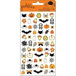 Spooky Boo Icons Puffy Stickers