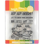 Hip Hip Hooray Stamp & Die
