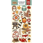 Celebrate Autumn Chipboard Stickers