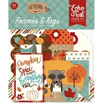 Celebrate Autumn Frames & Tags Ephemera