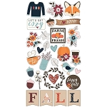 Forever Fall Chipboard Stickers