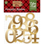 Celebrate Christmas Numbers Die Cuts