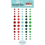 Santa's Workshop Enamel Dots