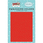 Santa's Workshop Whiteout Embossing Folder