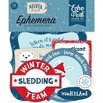 Celebrate Winter Icons Ephemera