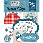 Celebrate Winter Frames & Tags Ephemera