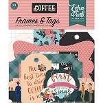 Coffee Frames & Tags Ephemera