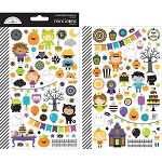 Pumpkin Party Mini Icons Stickers