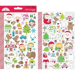 Christmas Town Mini Icons Stickers