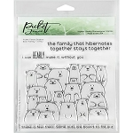Bear Family Stamp Set