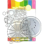 Color Wheels Stamp & Die Set