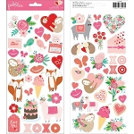 Loves Me Icons & Accents Stickers